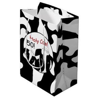 Bolsa De Regalo Mediana Cumpleaños santo MGB de la vaca