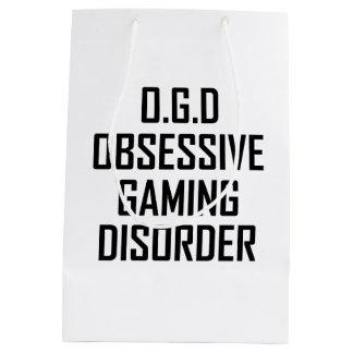 Bolsa De Regalo Mediana Desorden obsesivo del juego