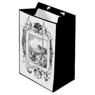 Bolsa De Regalo Mediana Eche en un bolso neto del regalo