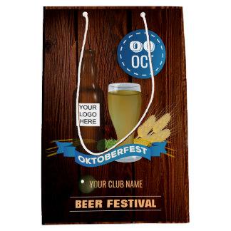 Bolsa De Regalo Mediana El club/el Pub/la compañía de Octoberfest añaden
