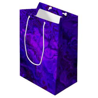 Bolsa De Regalo Mediana Extracto púrpura de la intensidad