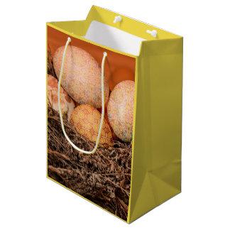 Bolsa De Regalo Mediana Huevos de Pascua rústicos en jerarquía