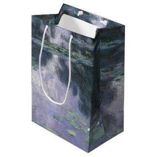 Bolsa De Regalo Mediana Lirios de agua de Claude Monet Nymphéas 1907