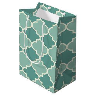 Bolsa De Regalo Mediana Luz y bolso marroquí azul marino del regalo del