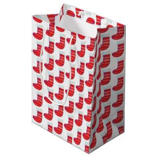 Bolsa De Regalo Mediana navidad que almacena el bolso del regalo