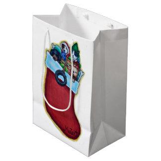 Bolsa De Regalo Mediana Perritos el' que almacenan bolso del regalo