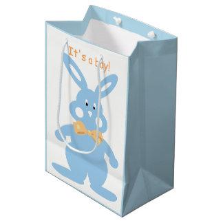 Bolsa De Regalo Mediana Personalizado de encargo MGB del bebé del conejito