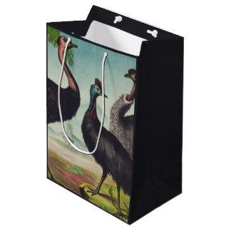 Bolsa De Regalo Mediana Trío de avestruces