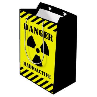 Bolsa De Regalo Mediana Truco-o-Invitación radiactiva de Halloween del