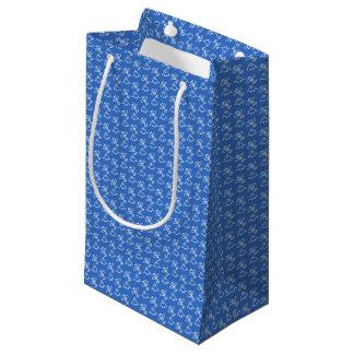 Bolsa De Regalo Pequeña Acepilla el azul