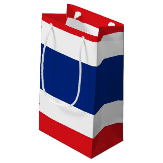 Bolsa De Regalo Pequeña Bandera de Tailandia