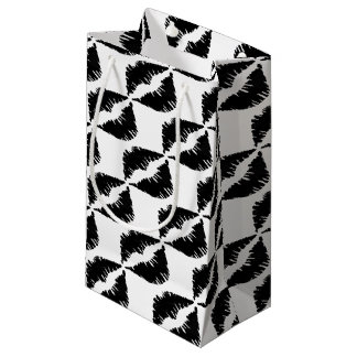 Bolsa De Regalo Pequeña Beso negro del gótico del marcador