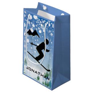 Bolsa De Regalo Pequeña Bolso de esquí del regalo del diseño