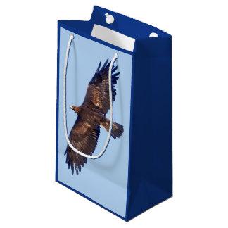 Bolsa De Regalo Pequeña Bolso del regalo de Eagle de oro en vuelo