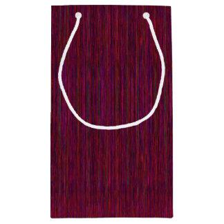 Bolsa De Regalo Pequeña Bolso del regalo de HAMbyWG - raya violeta de la