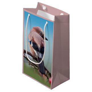 Bolsa De Regalo Pequeña Bolso del regalo de Jay del eurasiático