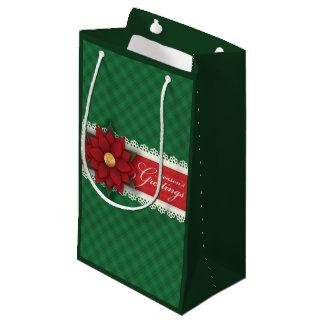 Bolsa De Regalo Pequeña Bolso del regalo de los saludos de la estación