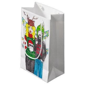 Bolsa De Regalo Pequeña Bolso del regalo de Navidad de BFF