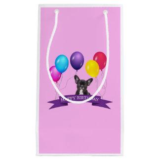 Bolsa De Regalo Pequeña Bolso del regalo del feliz cumpleaños del perrito