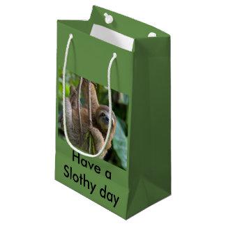 Bolsa De Regalo Pequeña Bolso del regalo para sus amigos de las perezas