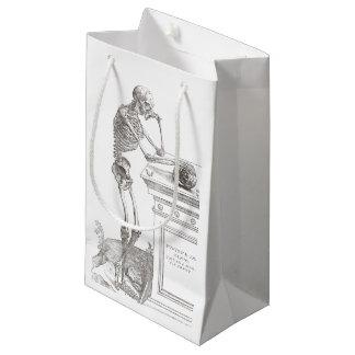 Bolsa De Regalo Pequeña Bolso esquelético del regalo de Andreas Vesalius