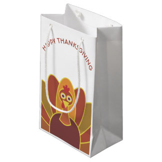 Bolsa De Regalo Pequeña Bolso feliz simple del regalo de Turquía el | de