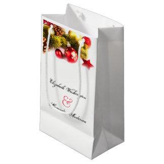 Bolsa De Regalo Pequeña Bolso festivo del regalo de boda del día de fiesta