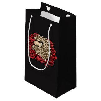 Bolsa De Regalo Pequeña Bolso gruñón del regalo del erizo