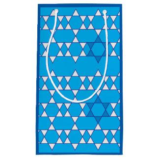 Bolsa De Regalo Pequeña Bolso judío resumido del regalo de las estrellas