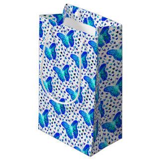 Bolsa De Regalo Pequeña Bolso pintado a mano del regalo de la mariposa