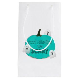 Bolsa De Regalo Pequeña Bolso verde azulado del regalo de Halloween de la
