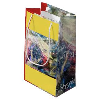 Bolsa De Regalo Pequeña bolsos del regalo de las hojas que caen