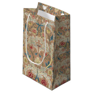 Bolsa De Regalo Pequeña Bordado de flores 1875 de William Morris del