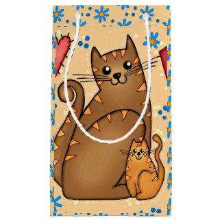 Bolsa De Regalo Pequeña Caída para los gatos