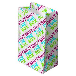 Bolsa De Regalo Pequeña Cierre el logotipo de la caja