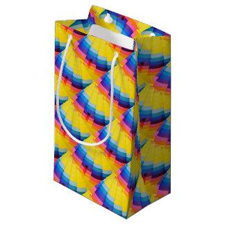 Bolsa De Regalo Pequeña Colorido abstracto