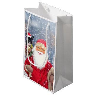 Bolsa De Regalo Pequeña Dogo francés de los regalos del navidad de Papá