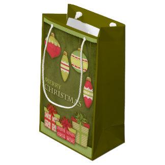 Bolsa De Regalo Pequeña Ejemplo de la caja y del ornamento de regalo del