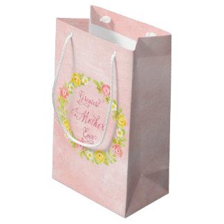Bolsa De Regalo Pequeña El día de madre - rosas bonitos 2 de la acuarela