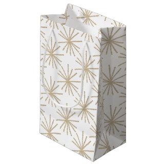 Bolsa De Regalo Pequeña Estrellas de oro a mano Giftwrap por el estudio de
