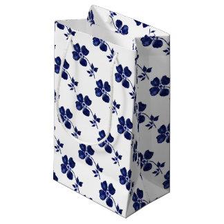 Bolsa De Regalo Pequeña Flor azul