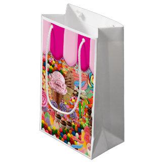 Bolsa De Regalo Pequeña Helado dulce estupendo del caramelo divertido