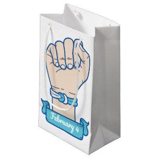 Bolsa De Regalo Pequeña hombres bracelet-01 del cáncer