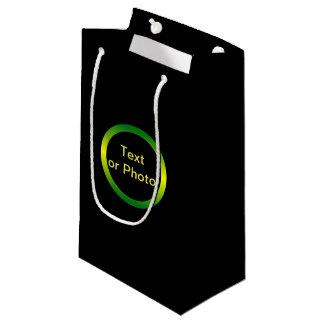Bolsa De Regalo Pequeña Jamaica inspiró el círculo de la pendiente