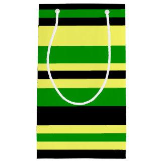 Bolsa De Regalo Pequeña Jamaica inspiró rayas