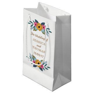 Bolsa De Regalo Pequeña La colección blanca del boda de la guirnalda