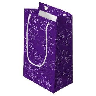 Bolsa De Regalo Pequeña La púrpura delicada ramifica bolso del regalo