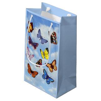 Bolsa De Regalo Pequeña Mariposa brillante