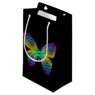 Bolsa De Regalo Pequeña Mariposa psicodélica
