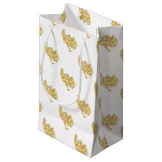 Bolsa De Regalo Pequeña Miller medieval con el dibujo del cubo